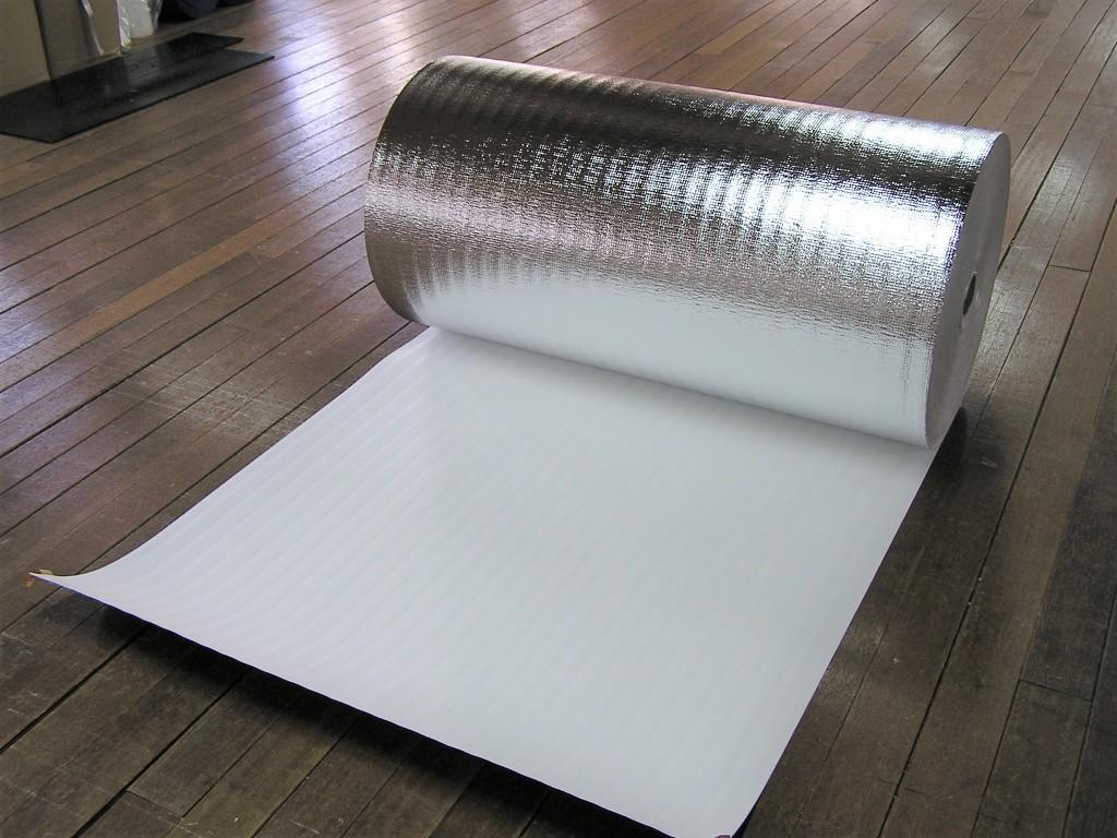 床下用 断熱シート 片面アルミ蒸着断熱シート