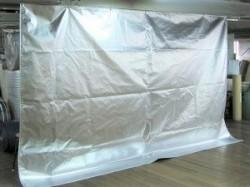 輻射熱対策カーテン