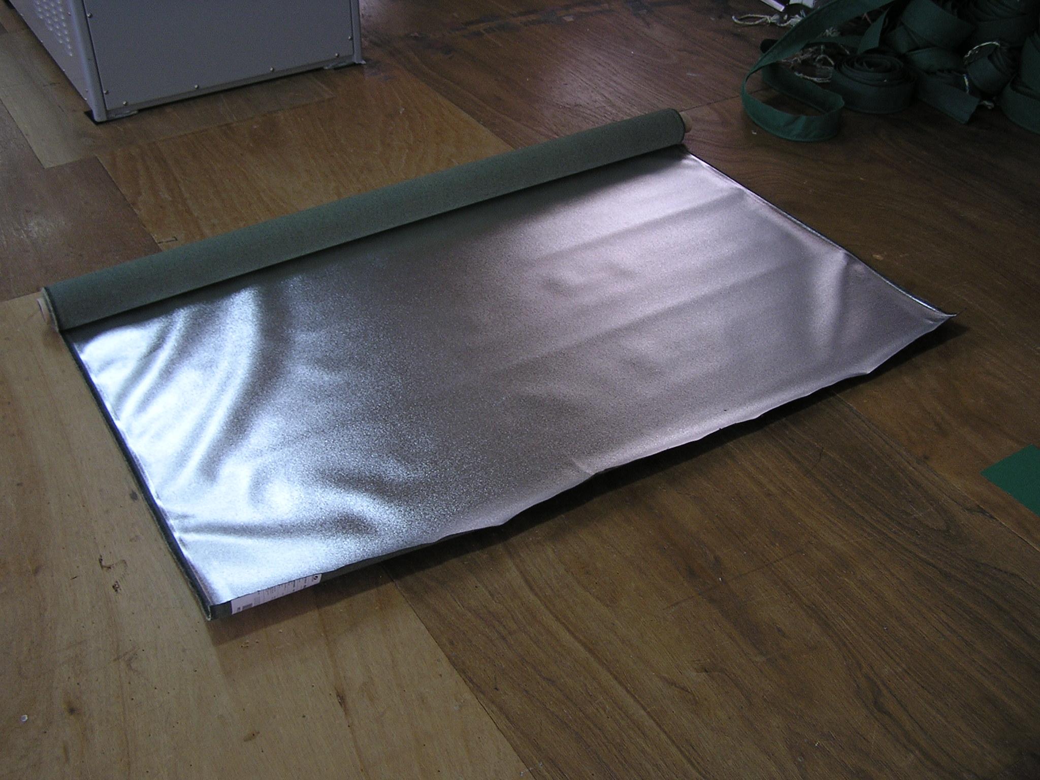 Aluprotec Heat Resistant And Insulating Evaporating Aluminium Sheet Kikuchi Sheet