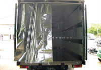 トラックリヤ用遮熱保冷カーテン
