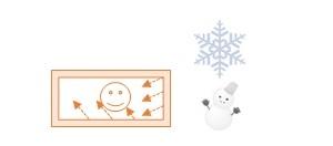 冬の防寒対策に。輻射熱シート